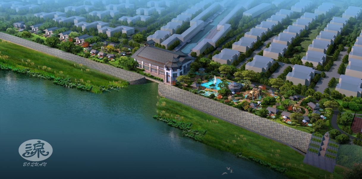 青州市九龙峪风景区_温泉规划设计_广州泊泉风景园林工程设计有限公司